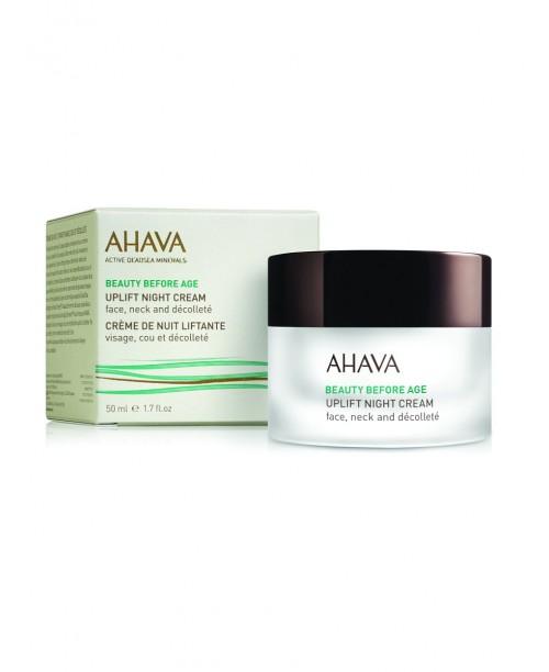 Beauty Before Age Ночной крем для подтяжки кожи лица, шеи и зоны декольте 50 мл, AHAVA